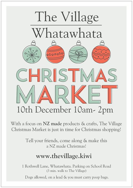 The Village Christmas Market Promo